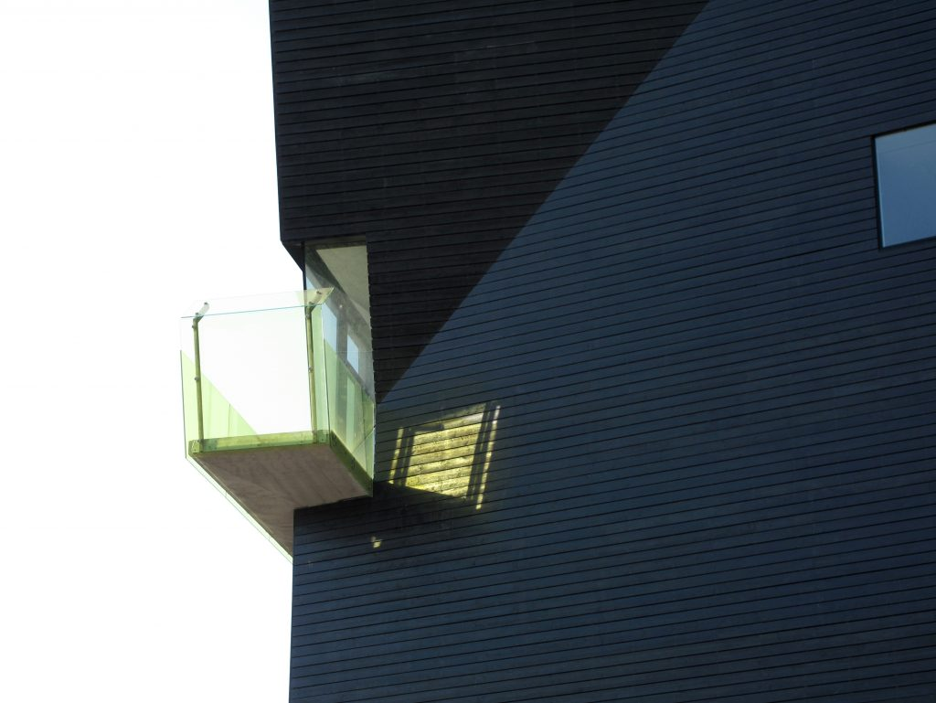 The Hamsum center by Steven Holl Architects, in Hamarøy, Norway, 2009. All photos by Steven Holl Architects.